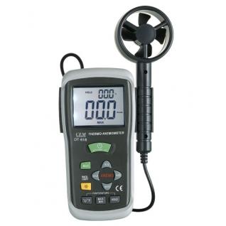 Измеритель скорости воздуха и температуры DT-618
