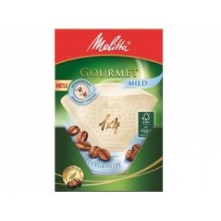 Фильтры бумажные Melitta для заваривания кофе 1х4/80 Гурмэ Милд (0100971)