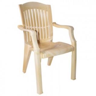 Кресло пластиковое SPG_ №7 Премиум-1 Лессир самшит