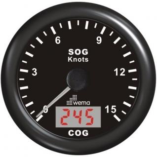 Wema Индикатор скорости GPS Wema IGPS-BB-15 12 В 85 мм