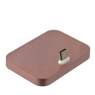 Док-станция USB 3.1 Type-C универсальная (LG G5, LG Nexus 5X, Meizu Pro 5...) Розовое золото Key