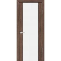 Дверное полотно Profilo Porte PS-24 ЭшВайт, Венге, Капучино, Грей, Орех пасадена, Стекло