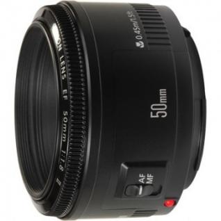 Фотообъектив Canon EF 50mm f/1.8 II