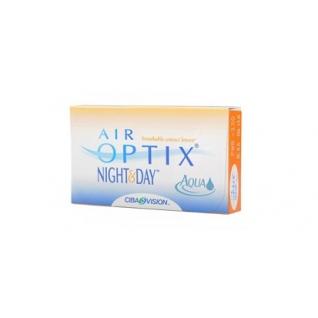 Аir Optix Night and Day Aqua. Оптич.сила -3.75. Радиус 8,6