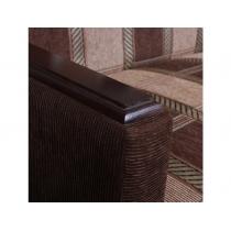 Диван книжка Шарм-Дизайн Классика Д коричневая