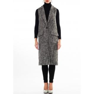 женская одежда FluffyAnn Moscow Пальто-жилет FluffyAnn Артикул FA025