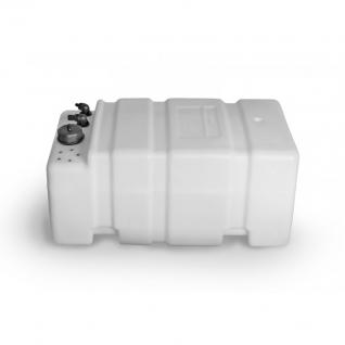 Бак для технических жидкостей Ceredi Titano белый пластик 60л (6628_60)