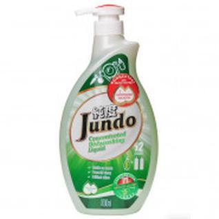 Средство для мытья посуды Конц/гель Jundo с гилаур кисл 1л в ассорт