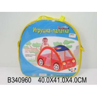 Палатка Детская Игровая Машинка 8016 В Сумке (Русс. Уп.) 41*40См