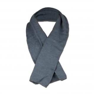 Made in Germany Шведский шерстяной шарф Серый