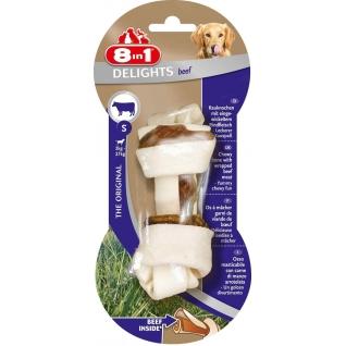 8in1 8in1 DELIGHTS Beef S косточка с говядиной для мелких и средних собак 11 см