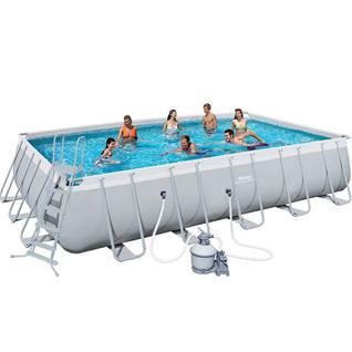 Bestway Каркасный бассейн Bestway Rectangular Frame 4,88х2,44х1,22м, 56671