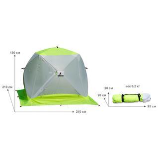 Палатка для зимней рыбалки Лотос Куб 3 Компакт ЭКО