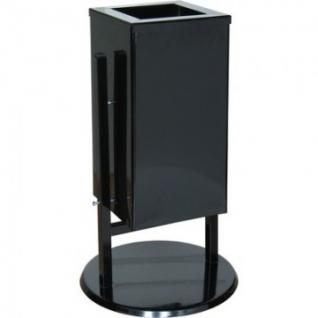 Урна стальная арт СЛ1-К черная 31 л