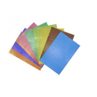 Набор цветной бумаги 10цв,10л,А4,самоклеющая,набор№5,11-410-34