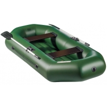 Надувная лодка Аква-Оптима 260 НД (двухместная, надувное дно)