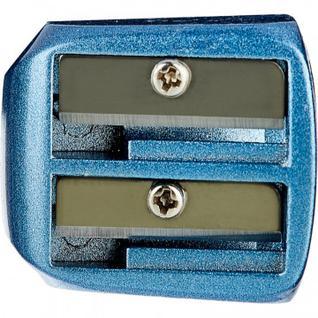Точилка металлическая Attache Selection два отверстия, синяя