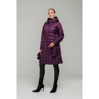 Пальто ODRI MIO 18310105 Пальто ODRI MIO BURGUNDY (бордовый)