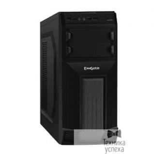 EXEGATE Exegate EX261425RUS Корпус Miditower Exegate AB-224U <Black, БП AB350, 80mm, ATX, 3*SATA, 2*USB+2*USB3.0, Audio>
