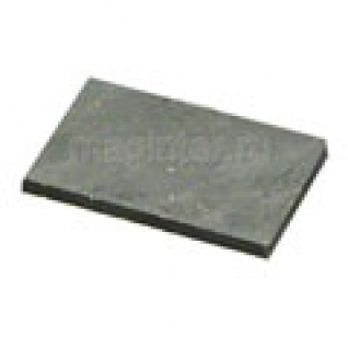 Пластина шунгитовая для телефона прямоугольная 15х25 мм