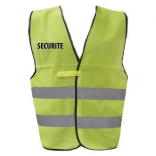 Жилет безопасности DCA, армия Франции, цвет желтый