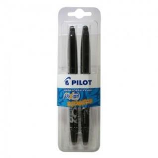 Ручка гелевая PILOT BL-FR7 Frixion черный 0,35мм 2шт/бл Япони