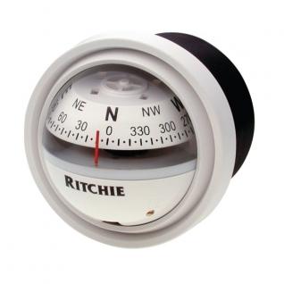 Ritchie Navigation Компас с конической картушкой Ritchie Navigation Explorer F-57.2W белый 70 мм 12 В устанавливается на переборку