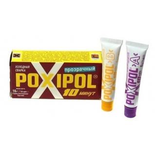 Холодная сварка POXIPOL прозрачная 14мл