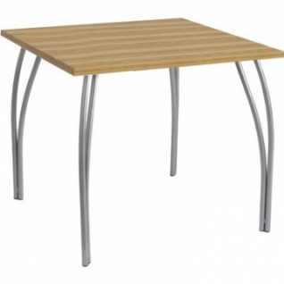 Стол обеденный UD_Страйк СТ5-01 квадр, опора металл, 1023 дуб горный