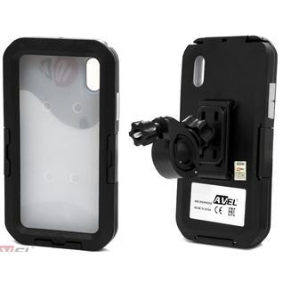 Водонепроницаемый чехол/ держатель для iPhone XR на велосипед и мотоцикл DRCXRIPHONE (черный) AVEL