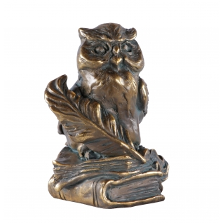Статуэтка «Магистр» (декоративная скульптура)(Античная бронза)