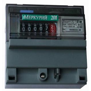 Электросчетчик Меркурий 201.5 однотарифный