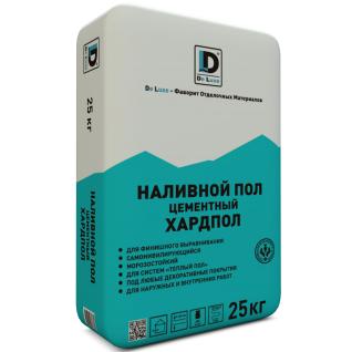 """Наливной пол цементный """"Хардпол"""" De Luxe 25 кг"""