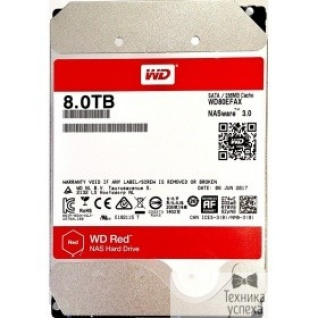 Western digital 8TB WD Red WD80EFAX) Serial ATA III, 5400- rpm, 256Mb, 3.5""