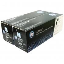 Двойная упаковка оригинальных картриджей HP CB436AF для HP LaserJet P1505, P1505n, M1120MFP, M1522MFP (чёрный, 2 шт. х 2000 стр.) 4568-01 Hewlett-Packard
