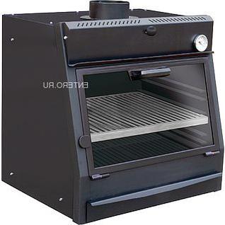 VORTMAX Печь на древесном топливе Vortmax CHO 30 LUX черная