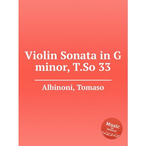 Соната для скрипки соль минор, T.So 33 38717817