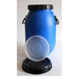 Бочка п/э 40л с винтовой крышкой синяя (БПЗ 40)