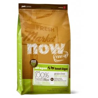 NOW! Natural holistic NOW! NATURAL Holistic Корм Беззерновой для Малых пород Всех возрастов с Индейкой, Уткой и овощами (Fresh Small Breed Recipe Grain Free) 2,72 кг.
