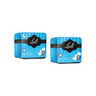 Прокладки гигиенические Linell Comfort Day Ultra с крылышками 10 шт