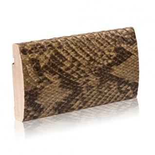 Декоративный профиль кожаный ЭЛЕГАНТ Snake 70 мм
