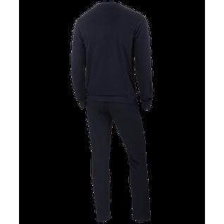 Тренировочный костюм Jögel Jcs-4201-061, хлопок, черный/белый размер XXXL