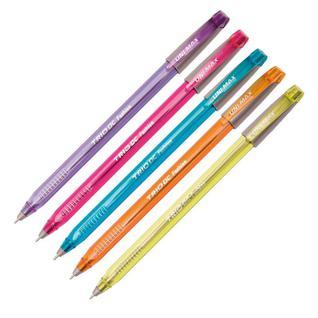 Ручка шариковая Unimax Trio DC Fashion 1мм, цв. в асс, масл, треуг, неавт