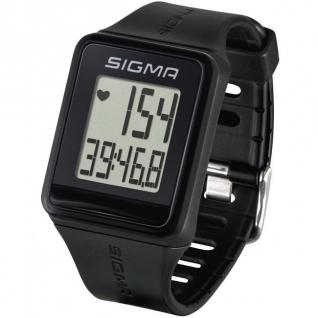 Пульсометр Sigma Sport iD.GO black (24500)