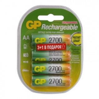 Аккумулятор GP 2700mAh AA/HR6 NiMh бл/4шт