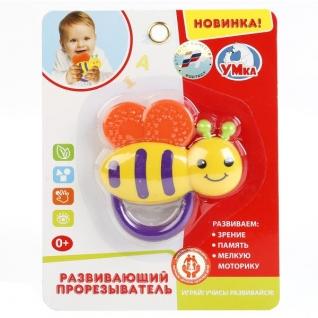 """Прорезыватель """"Умка"""" """"Пчелка"""" На Блистере (Русс. Уп.)"""