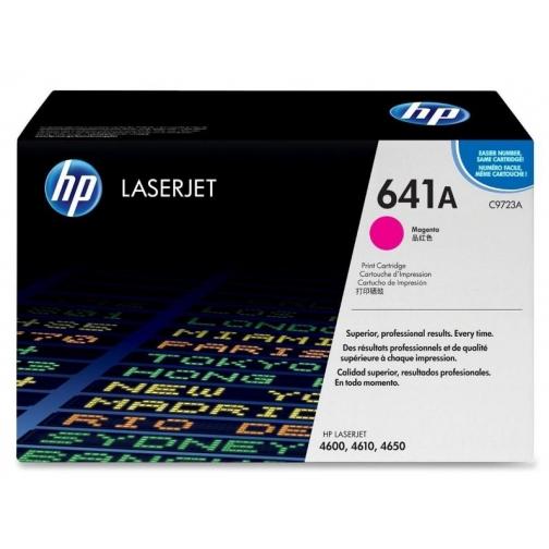 Оригинальный картридж C9723A для HP CLJ 4600, 4650 (пурпурный, 8000 стр.) 816-01 Hewlett-Packard 852519
