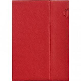 Папка уголок эко кожа 1271 красный