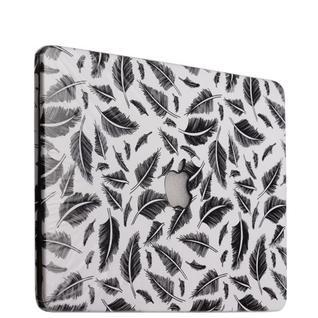 Защитный чехол-накладка BTA-Workshop для Apple MacBook 12 Retina вид 18 (перья)
