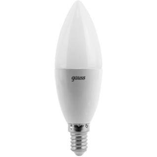 Gauss Лампа Gauss LED Candle E14 6.5W 4100К 1/10/50